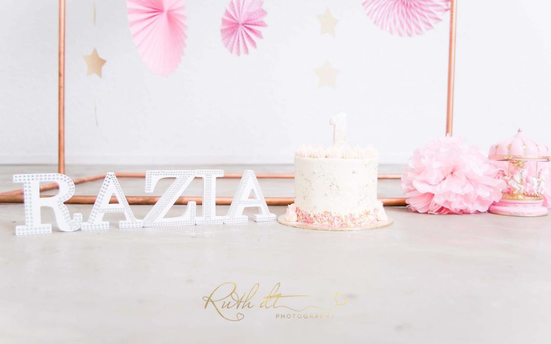 {Cake Smash – Razia Turns One}